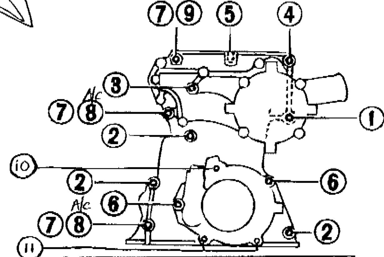 Toyota 22r Engine Diagram Timing Cover - Wiring Diagram ...